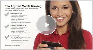 Anytime Mobile banking