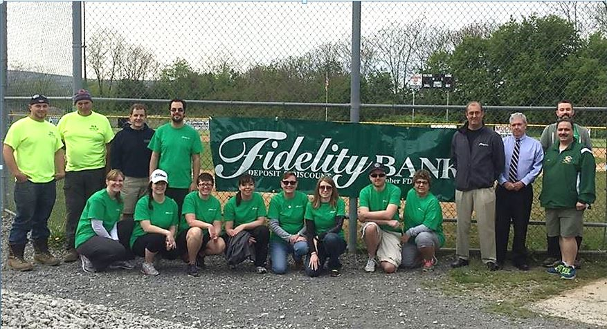 Fidelity Little League Team Photo