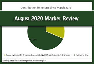 Photo for article: August 2020 Market Review